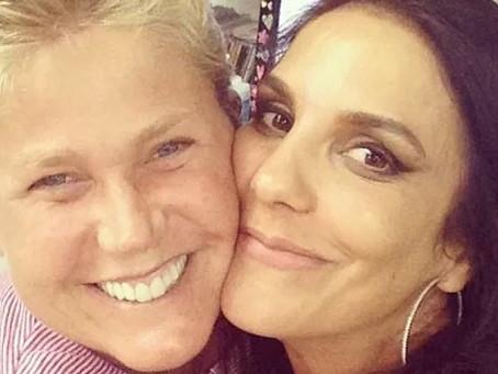 No Lady Night, Xuxa Meneghel fala  que nunca ficou com Ivete Sangalo