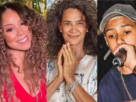 Mariah Carey tem música de Natal mais executada do Brasil; Simone e MC Teteu estão na lista