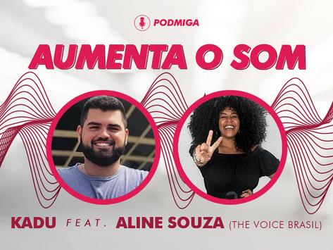 Apostando no pagode romântico, Aline Souza representa a Bahia no The Voice Brasil
