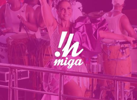 """Ivete Sangalo é a escolhida da semana na playlist """"Ouça aí, vei!"""""""