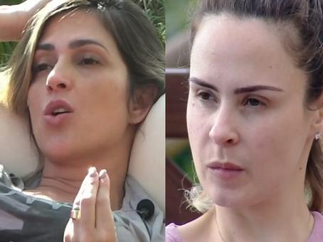 Nadja e Ana Paula brigam em dia de formação de roça