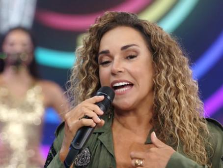 Daniela Mercury lança música no Faustão e defende o Nordeste e a educação