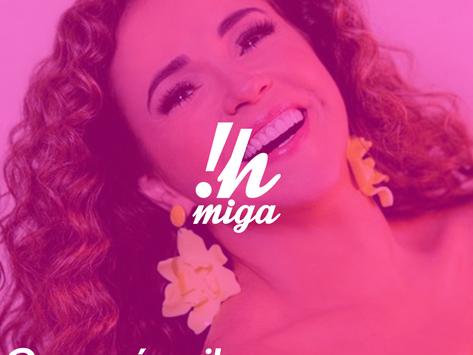"""Ih, Miga! lança playlist """"Ouça aí, vei"""" com 50 músicas de Daniela Mercury"""