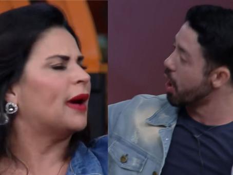 A Fazenda 13: Solange Gomes briga com Rico Melquíades e chama humorista de feio; veja vídeo