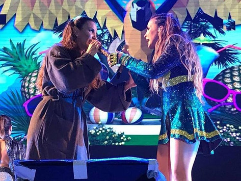 VÍDEO: No Eletriza, Ivete Sangalo e Claudia Leitte cantam juntas