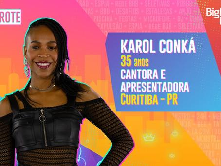 Karol Conká é a primeira participante confirmada no camarote do BBB 21; confira