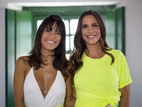 Ju Moraes lança música com Ivete Sangalo