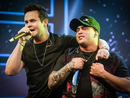 """Matheus e Kauan apresentam novo DVD no """"Música na Band"""" desta sexta-feira (26)"""