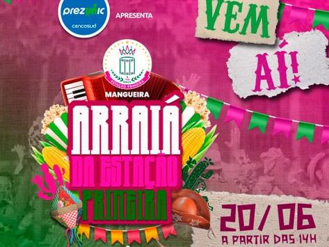 Mangueira promove arraiá virtual neste domingo (20); saiba onde assistir