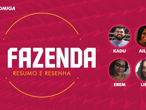 PODCAST: saída precoce de Raissa Barbosa em A Fazenda 12 e as brigas da semana