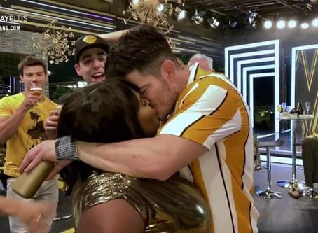 VÍDEO: Jojo Todynho beija JP Gadelha em primeira festa de A Fazenda 12