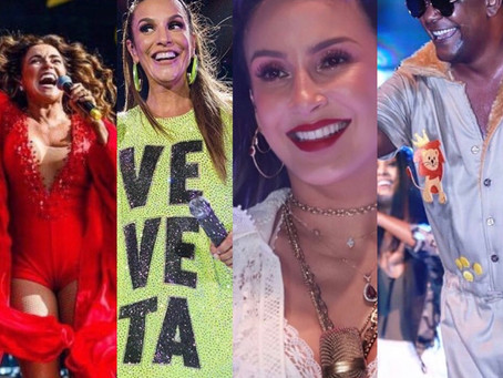 IH, MIGA! Gravidez de Claudia Leitte, os agitos do fim de semana e as cordas do Coruja esgotado