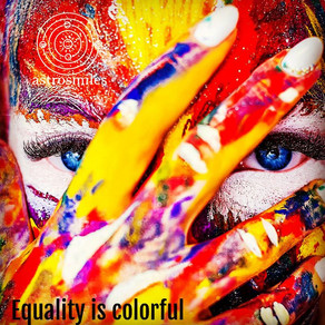 EQUALITY IS COLORFUL