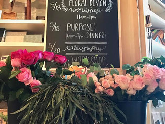 West Elm Floral Design Workshop