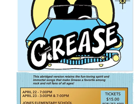 Asheville Performing Arts Academy presents GREASE