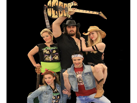 ROCK OF AGES hits Asheville this February: Asheville Performing Arts Academy Faculty & Friends Produ