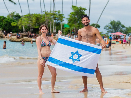 Sinagoga e placas em hebraico: Morro de São Paulo vira point de israelenses