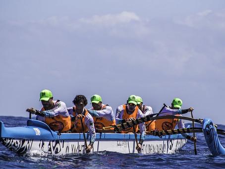 Baía de Todos os Santos recebe desafio de canoagem Salvador-Morro de São Paulo