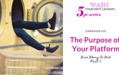 The Purpose of Your Platform