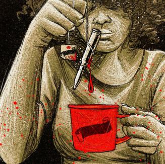 CAFÉ COM PÓLVORA