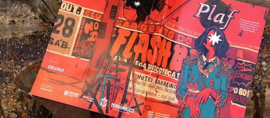 Revista Plaf! #4 | Processo criativo da capa