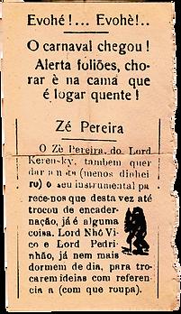Jornal O Apito, edição nº 747,  ze perei