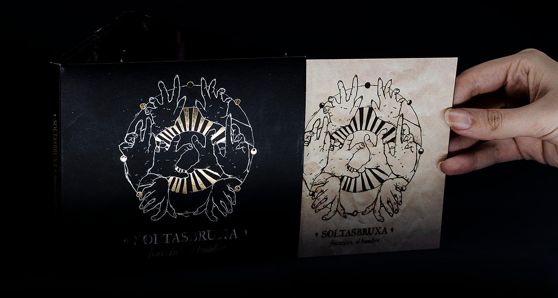 Capa e encarte : SOLTASBRUXA : CD físico