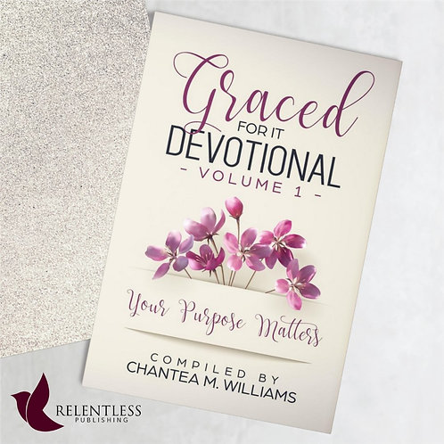 Graced for It Devotional Volume 1