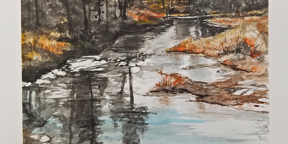 Watercolor Class with Sharon Herther