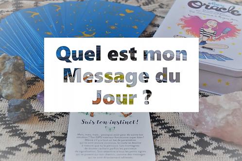 MESSAGE du JOUR - Mon Oracle