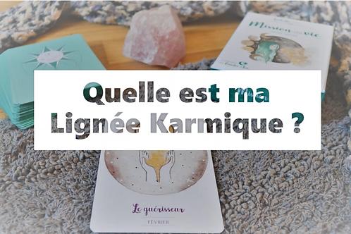 LIGNÉE KARMIQUE - Oracle Mission de Vie