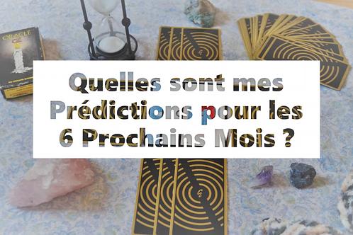 PREDICTION pour 6 MOIS - Oracle Gé