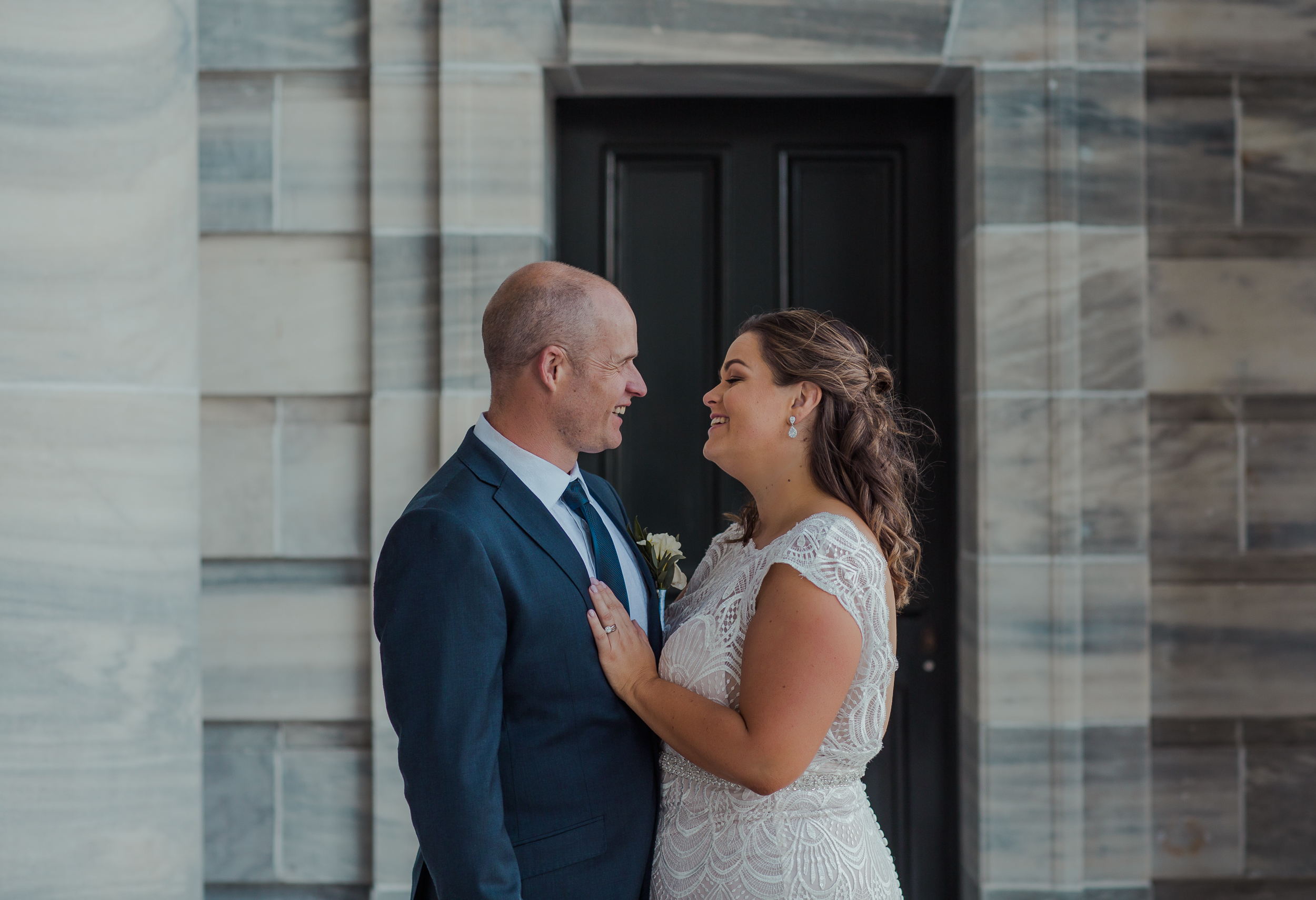 Parliament Wellington Botanical Gardens and Prefab Hall Wedding