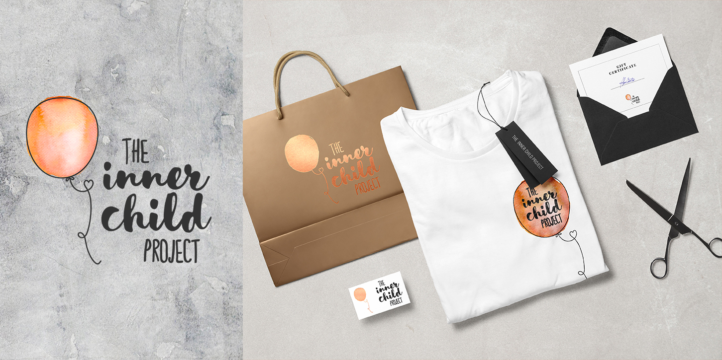The Inner Child Project branding