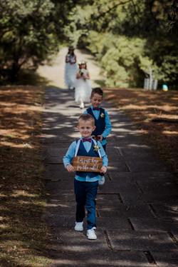 Wellington Botanical Gardens and Prefab Hall Wedding
