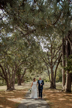 Wellington Botanical Gardens Wedding
