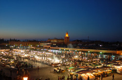 Marrakech - Djemaa Fna Square