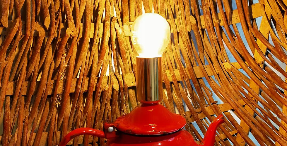 """Lampe """"email rouge"""""""