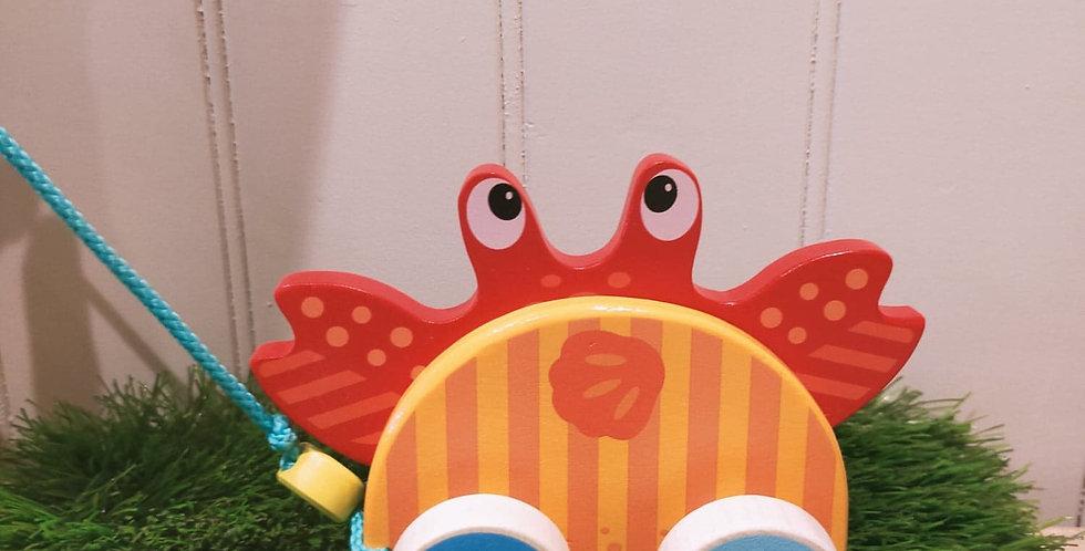 Crabe à tirer
