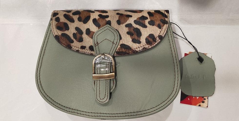 Petit Rond vert d'eau/léopard