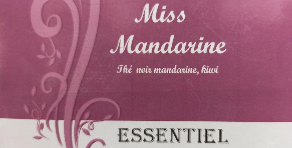"Thé Noir ""Miss mandarine"""