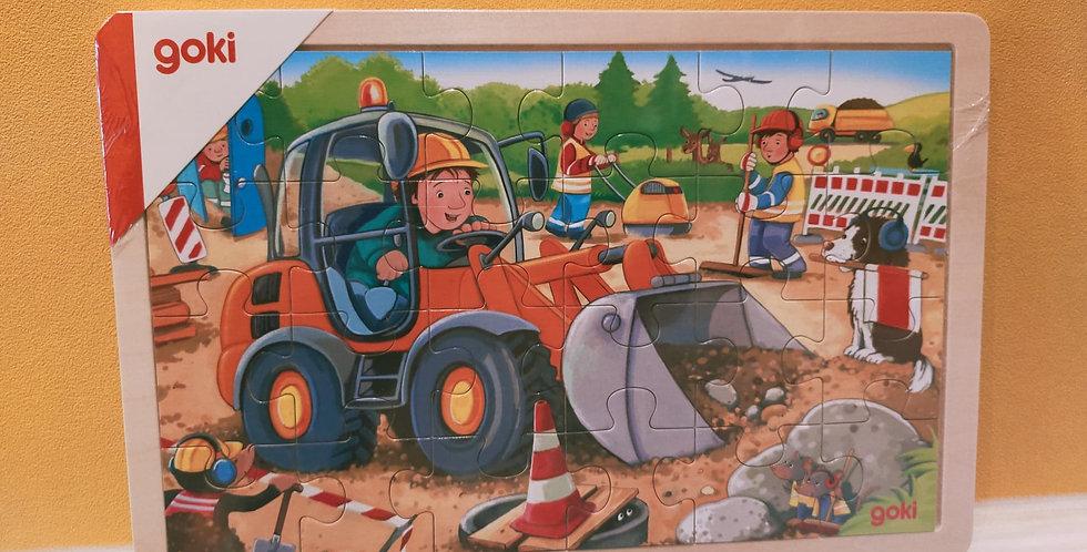 Puzzle chantier