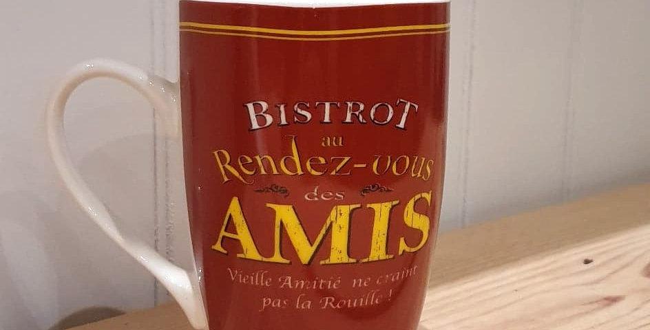 """Tasse """"Rdv des amis"""""""