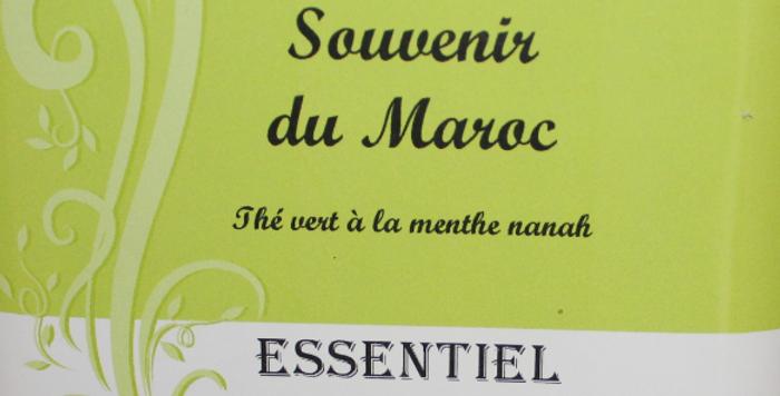"Thé Vert ""Souvenir du Maroc"""