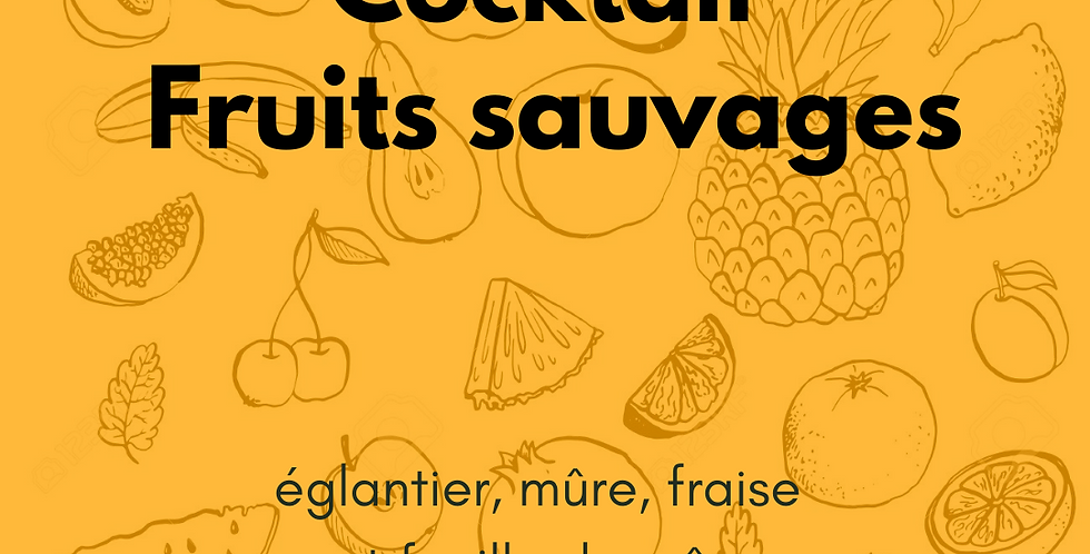 """Cocktail """"Fruits sauvages"""""""