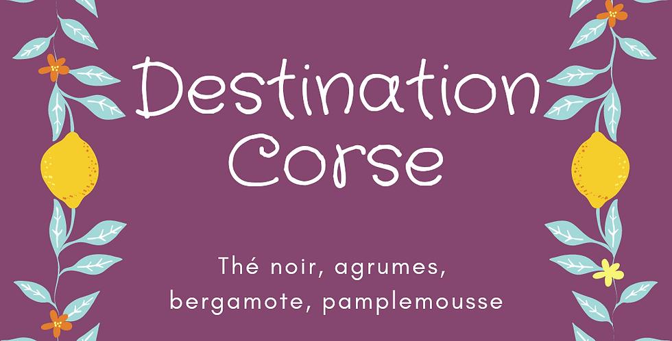 """Thé Noir """"Destination Corse"""""""