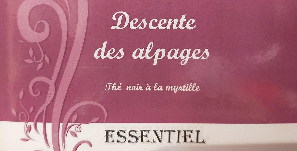 """Thé Noir """"Descente des alpages"""""""