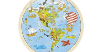 """Puzzle """"tour du monde"""""""