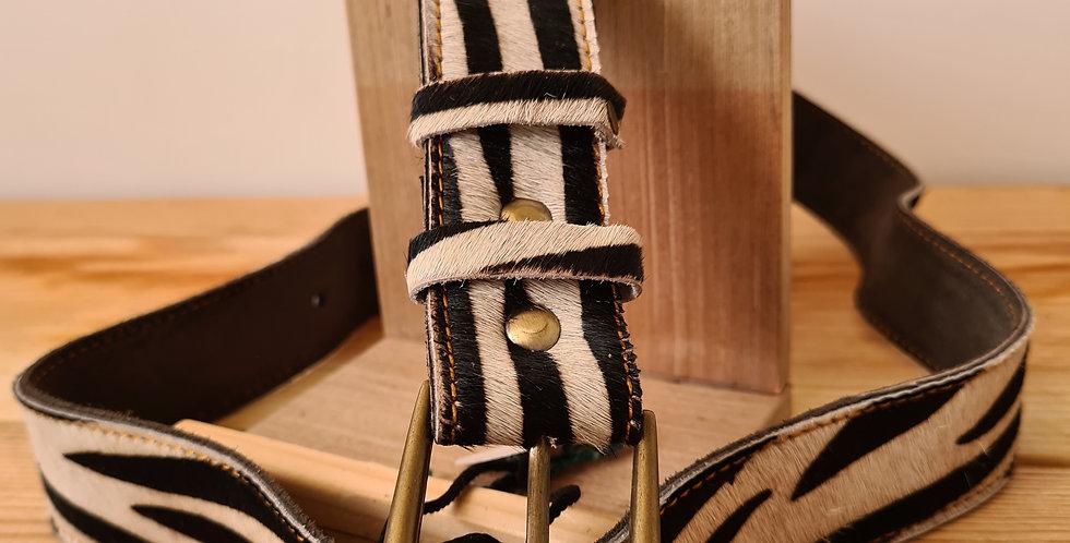 ceinture Zèbre XL