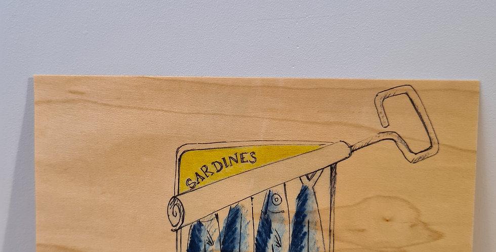 Carte Sardines